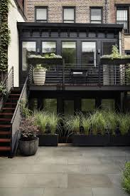 top 25 best brooklyn style ideas on pinterest long to short brooklyn prospect townhouse garden planting bed gardenista like all the black for contrast
