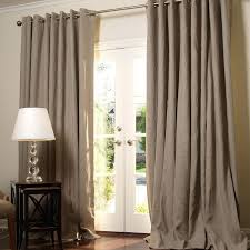 Gray Burlap Curtains Catchy Grommet Burlap Curtains Decor With Modern Contemporary