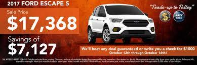 Ford Escape Msrp - bill talley ford new u0026 used ford dealership richmond va
