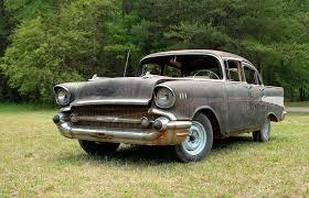 auto junkyard kingston ny 1957 chevy car salvage wrecking yards u0026 paddock barn shed finds