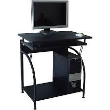 Compact Computer Desk Black Compact Computer Desk
