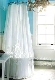 Ruffle Shower Curtain Uk - anthropologie shower curtains u2013 teawing co