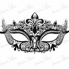 laser cut masquerade masks black metal luxury laser cut venetian masquerade mask made of