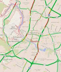 rush hour traffic from suburbs to austin cedar park jollyville