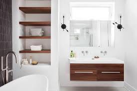 Contemporary Bathroom Shelves 15 Bathroom Shelf Designs Ideas Design Trends Premium Psd