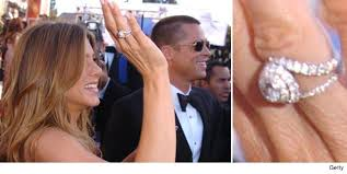 aniston wedding ring aniston engagement ring brad pitt 4 ifec ci