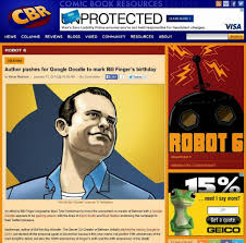 google quote for the day noblemania the day in bill finger google doodle news