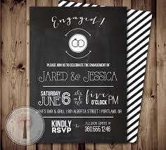engagement party modern engagement party invitations card