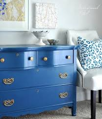 blue furniture blue painted dresser with gold pulls painted furniture pics