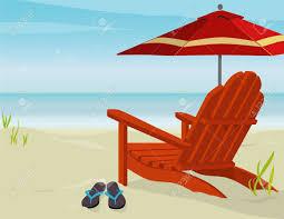 Beach Lounge Chair Png Beach Umbrella With Chair Png Clipar Clip Art Library