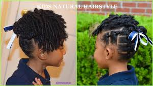 kids natural hairstyles easy kids rubberband hairstyle updo for