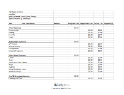 Event Budget Template Excel 28 Event Planning Budget Template Event Budget Template