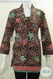 desain baju batik halus produk busana batik wanita desain mewah nan elegan pakaian batik