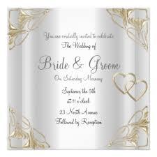Silver Wedding Invitations Silver Wedding Invitations U0026 Announcements Zazzle Com Au