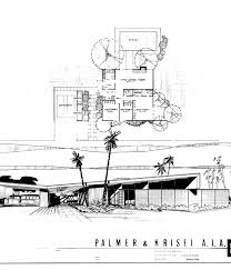 desert home plans palms plans and elevation drawings by william krisel