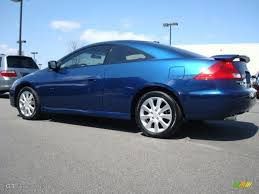 2007 v6 honda accord sapphire blue pearl 2007 honda accord ex v6 coupe exterior photo