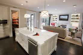 kitchen island with sink sink and dishawasher in kitchen island contemporary kitchen