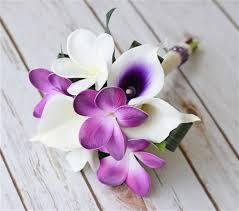 orchid bouquet purple touch orchids bouquet