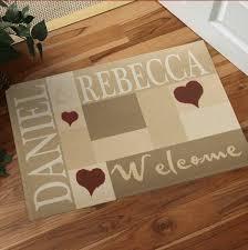 tappeti personalizzati on line zerbino personalizzato on line idee di immagini di casamia