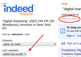 resume search how to use indeed resume search to find the best candidates fast