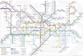 London Metro Map by London Tube Map Tottenham Hale London Map