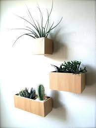 plant wall hangers indoor wall hanging planters wall mount planter modern plant wall box