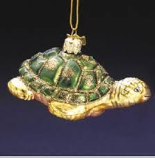 sea turtle ornament glass ornaments animal ornaments
