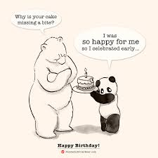 happy birthday u2013 panda and polar bear