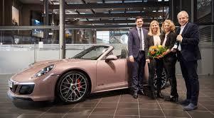 pink porsche panamera tennis winner u0027s trophy is a new pink porsche