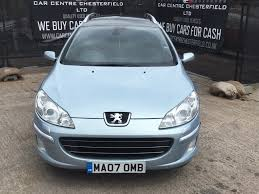 buy used peugeot used peugeot 407 sw estate 2 0 hdi gt 5dr in chesterfield