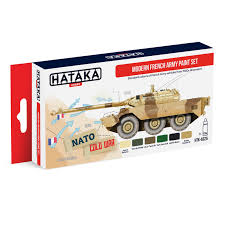 modern army vehicles hataka hobby acrylic paint set modern french army vehicles