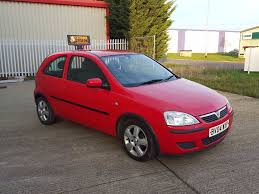 2004 vauxhall corsa 1 0 energy 3 door manual petrol in red nice