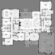 big house blueprints cafe interior design collections 3d plans idolza