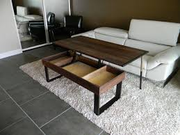 space saver furniture furniture best transforming space saving coffee table converts to