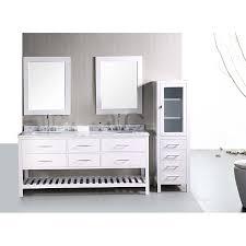 Shaker Style Bathroom Cabinets by Design Element London Shaker Style Double Sink Bathroom Vanity