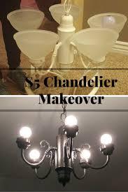 Chandelier Simple Diy Simple Chandelier Makeover Sawdust