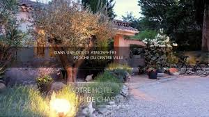 hotel amandiere saint remy provence video youtube