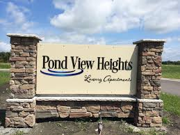 lormar properties inc mankato apartment rentals ad 1 pond view sign