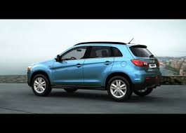 mitsubishi rvr 2013 new images with the 2011 mitsubishi asx automotorblog