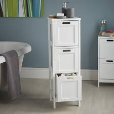 Bathroom Storage Cabinet With Drawers by Shaker Style 3 Drawer Storage Unit Bathroom Storage Cabinets