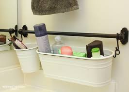 Bathroom Storage Containers The Most Of Your Builder Basic Bathroom