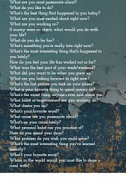 27 questions to ask instead of