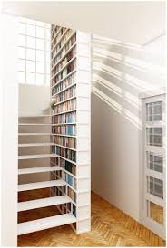 staircase bookshelves wood wall planter shelf as build staircase