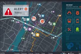 Global Incident Map Mastria Multimodal Solution