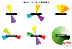 color wheel schemes color wheel schemes elegant on interior and exterior designs for