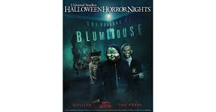 halloween horror nights hollywood map beginning september 15 u0027the horrors of blumhouse u0027 takes