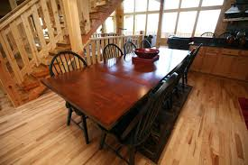 Copper Dining Room Tables by Pigeon Forge Cabins Gatlinburg Cabins