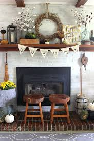 thanksgiving mantel diy fall mantel decor ideas to inspire rustic fall decor