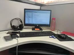 My Office Desk How Does Your Office Desk Look Like Quora