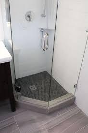 shower beautiful vinyl shower pan single threshold shower base